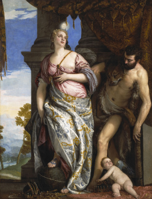 Paolo Veronese. Allegory of Wisdom and Strength (Choice of Hercules or Hercules and Omphale)