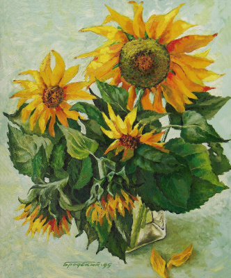 David Shikovich Brodsky. Sunflowers again