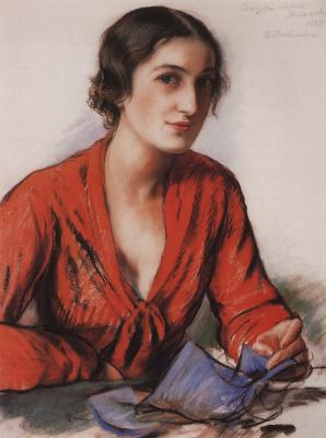 Zinaida Yevgenyevna Serebriakova. Sandra Loris-Melikova