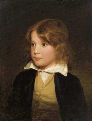 Фридрих фон Амерлинг. Брат художника Йозеф Амерлинг в детстве.