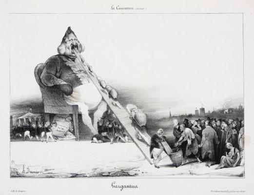 Оноре Домье. Гаргантюа