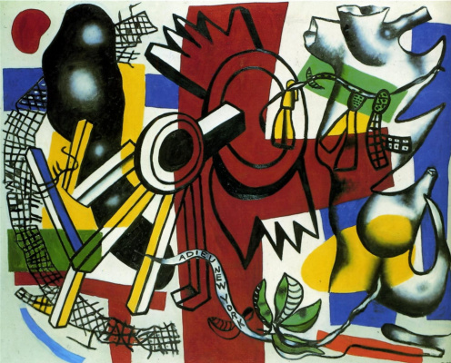 Fernand Leger. Goodbye, New York