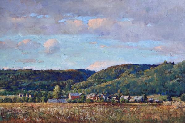Alexander Victorovich Shevelyov. Views of Zamosc.oil on canvas.33,5 # 50,3 cm 2006