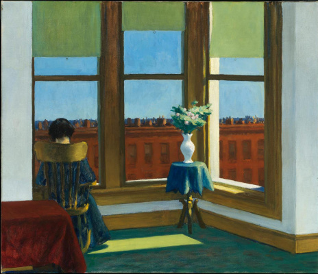 Edward Hopper. Room in Brooklyn