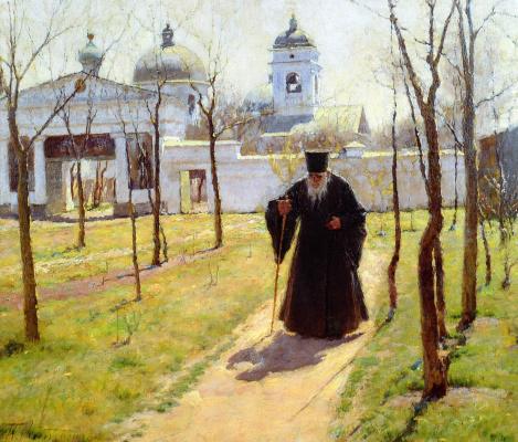 Кириак Константинович Костанди Украина 1852−1921. Ранняя весна . 1890