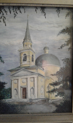 Koroleva Tatyana. Cossack Cathedral In Omsk