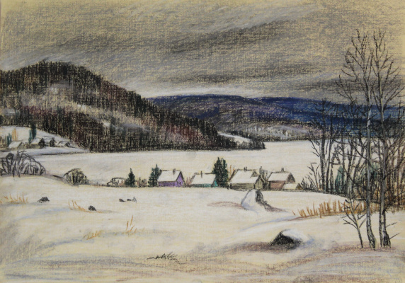 Irina Soboleva. Winter in Munozero