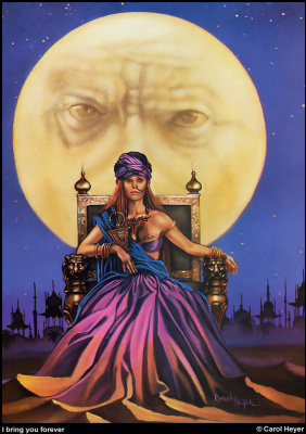 Кэрол Хейер. Полная луна