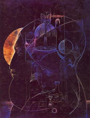 Susan Seddon Boulet. The alchemist