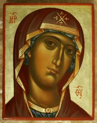 Елена Амосова-Погунова. Богородица
