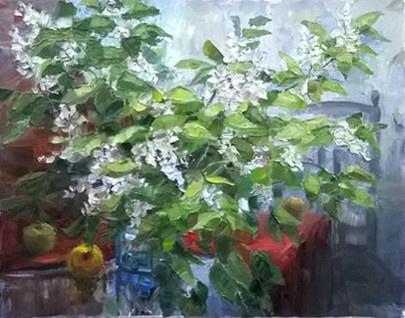 Svetlana Holodnyak. Bird cherry