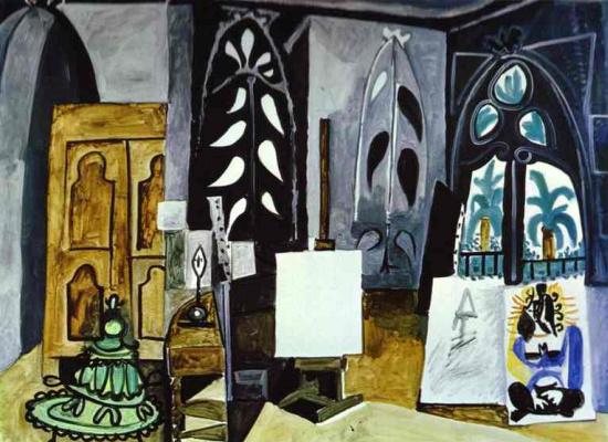 Пабло Пикассо. Мастерская на вилле Калифорния в Каннах