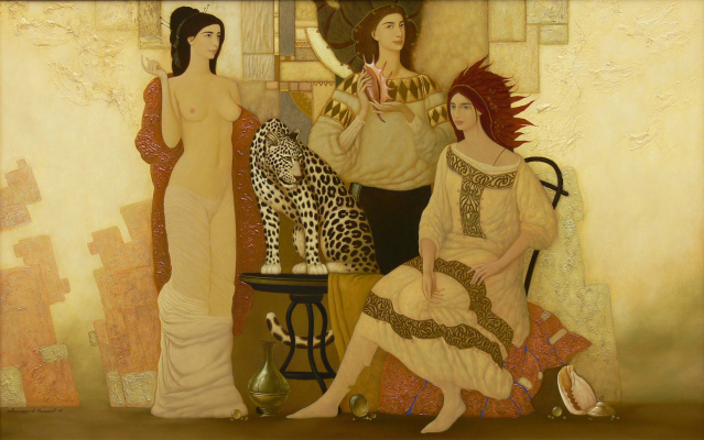 Alexander Melnikov. The three graces