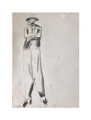 Daria Sam Semenova. Inspired by Konchalovsky