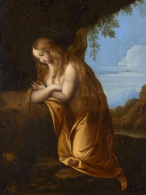 Cesari Giuseppe (Cavalier d'Arpino). Penitent Mary Magdalen.