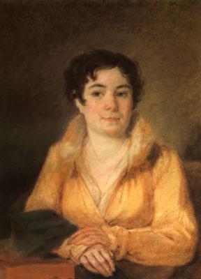 Alexey Gavrilovich Venetsianov. Portrait Of L. A. Stromilova