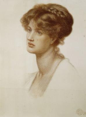 Dante Gabriel Rossetti. Spartan Mary Stillman