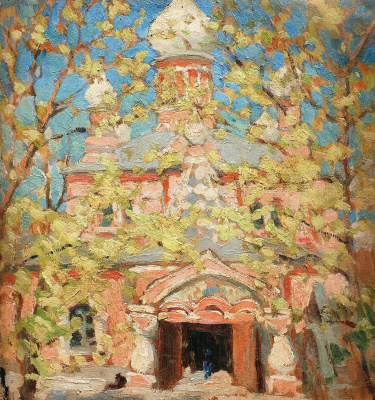 Николай Григорьевич Бурачек. Pokrovsky Monastery, Kiev
