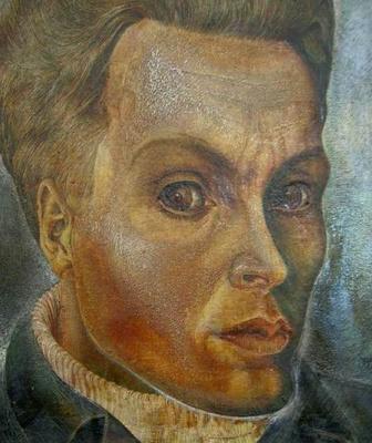 Алексей Петрович Жибинов. Автопортрет