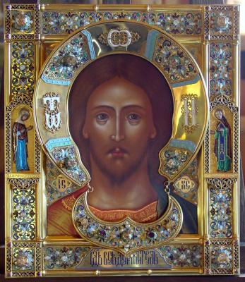 Московская Иконописная Мастерская. Икона Спас Вседержитель