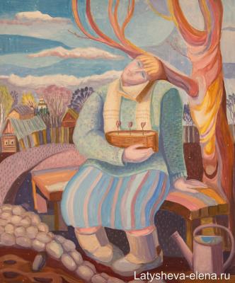 Elena Alekseevna Latysheva. Cold Spring
