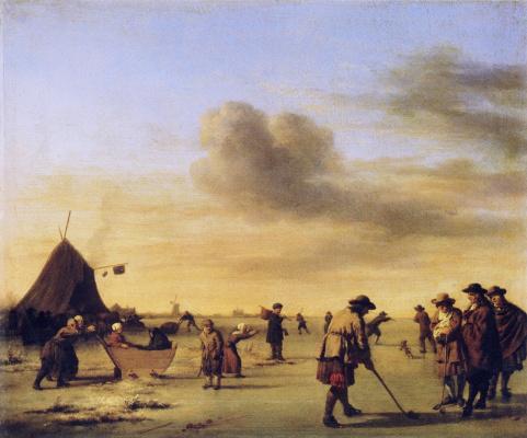 Адриан ван де Вельде. Рабочие