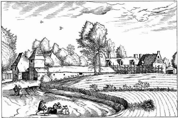 "Pieter Bruegel The Elder. The series ""Small landscapes"". Landscape # 13"