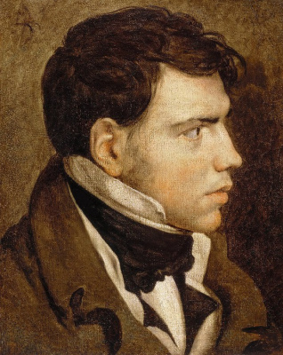 Jean Auguste Dominique Ingres. Portrait of a young man