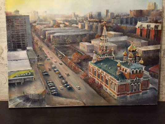 Анастасия Ораина. View from the window. To order!