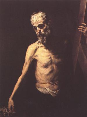 Jose de Ribera. Saint Andrew
