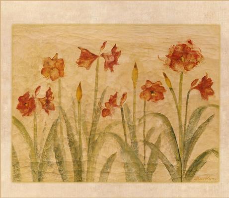 Чери Блюм. Красные цветы