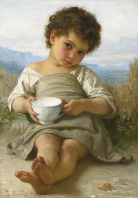 Вильям Адольф Бугро. Чашка молока