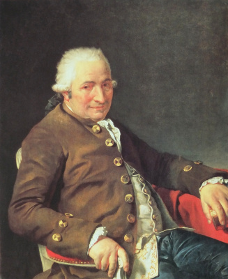 Jacques-Louis David. Charles Pierre Pecoul — contractor of Royal buildings
