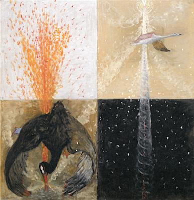 """Hilma af Klint. Series """"Swan"""", №5"""