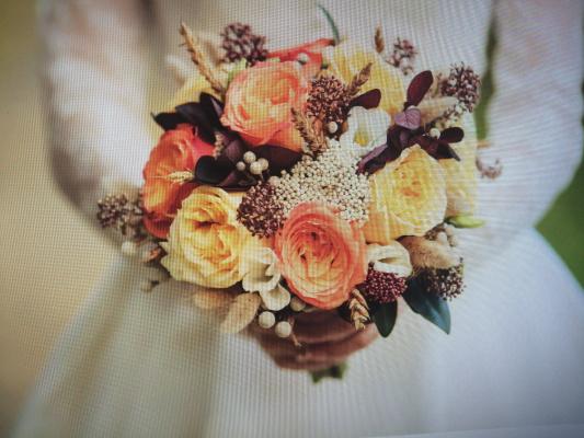 Anastasia Zamurueva. Flowers bouquet