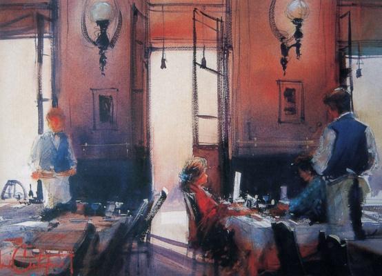 Альваро Кастагнет. Кафе в Буэнос-Айрес