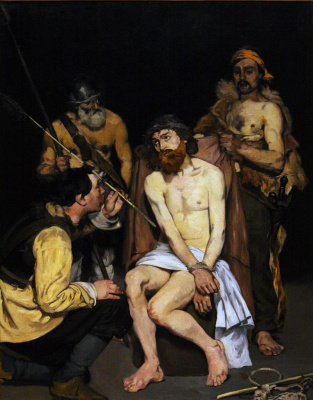 Jesus, tormented by soldiers (Reproach of Christ)