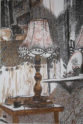 Irina Melikhova. Lamp