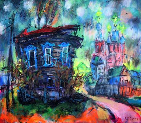 Ilya Pavlovich Spichenkov. Old house