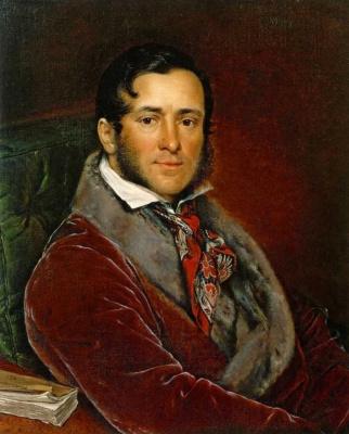 Vasily Andreevich Tropinin. Portrait Of S. N. Mosolova