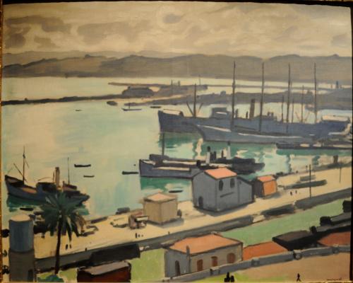 Albert Marquet. Warships