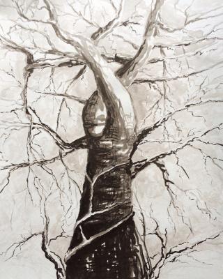 Андрей Леонидович Шепель. Портрет дерева