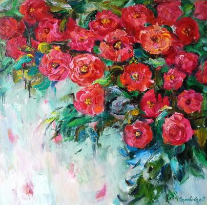 Oksana Viktorovna Zalevskaya. May roses.
