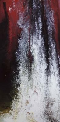 """Alla Struchayeva. Painting """"Lagoon of Light"""""""