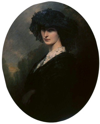 Franz Xaver Winterhalter. Jadwiga of Potocki, Countess of Branicka