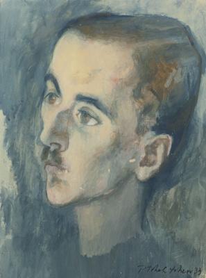 Павел Федорович Челищев. Мужской портрет