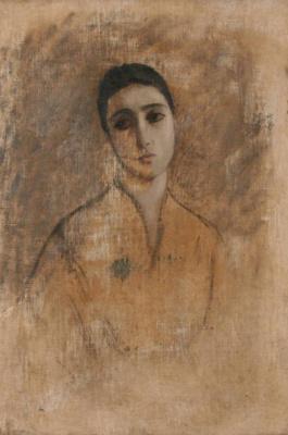 Василий Яковлевич Ситников. Женский портрет