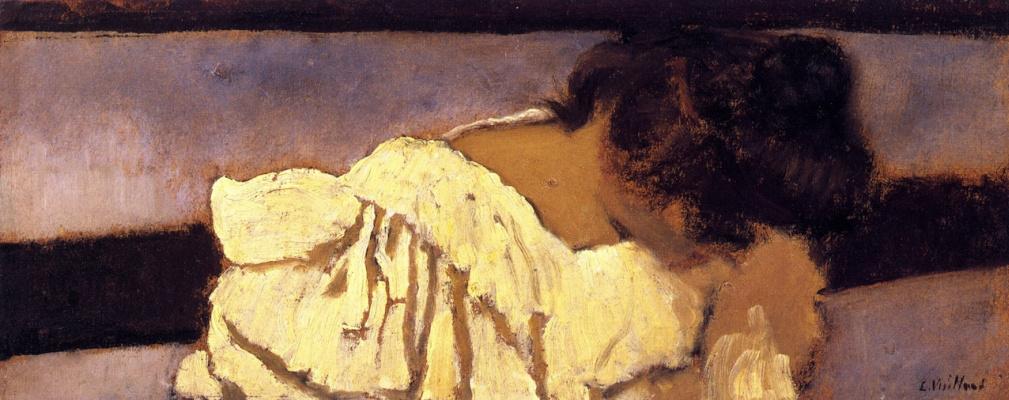 Jean Edouard Vuillard. The nape of Misia's neck