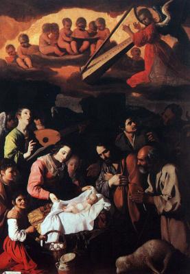 Франсиско де Сурбаран. Поклонение пастухов