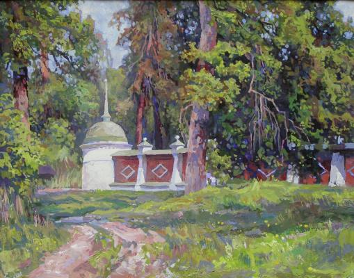 Oleg Borisovich Zakharov. May at the skete. ( Optina )